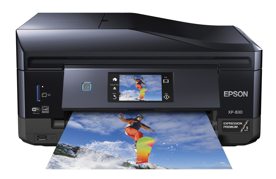 epson expression premium xp 830 small in one printer copier scanner rh officedepot com Epson Workforce 840 Printer Manual Epson Workforce 840 Printer Manual