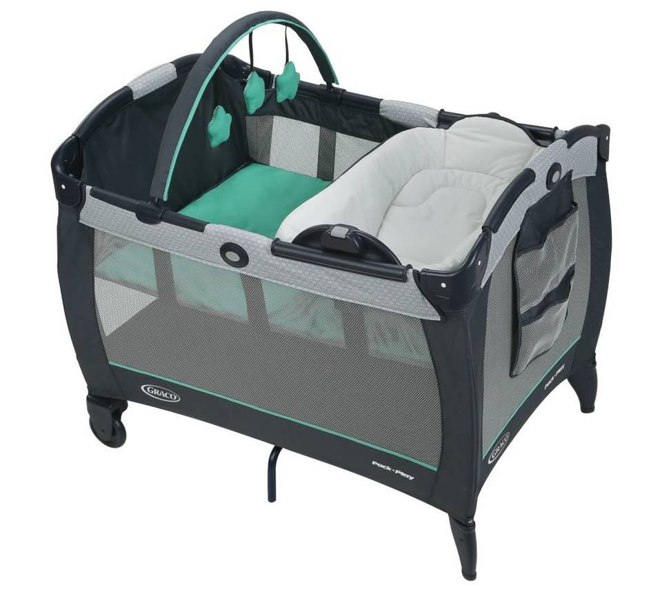 Bed bath beyond french press - Image Of Graco Pack N Play Playard Reversible Napper In Basin