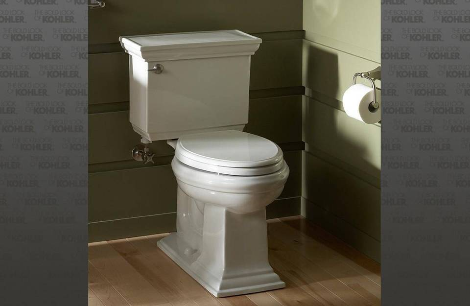 K-3817-0,47,7 Kohler Memoirs Stately 1.28 GPF Elongated Two-Piece ...