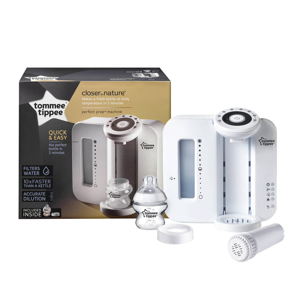 Tommee Tippee Closer To Nature Perfect Prep Machine Bottle Feeding