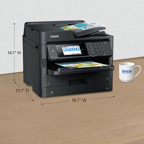 Epson WorkForce Pro ET-8700 EcoTank - multifunction printer - color