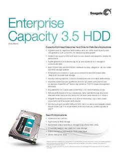 View Enterprise Capacity 3.5 HDD V4 Data Sheet PDF