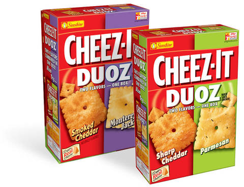 Cheez It Duoz Flavors