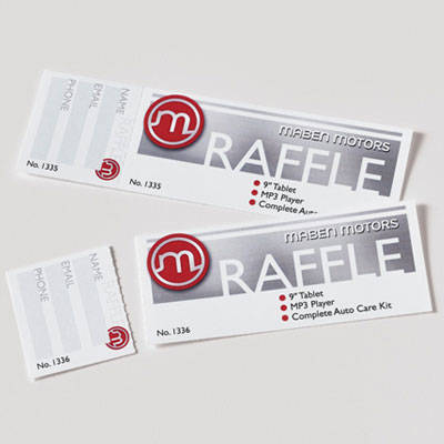 Avery printable tickets 1 34 x 5 12 white pack of 200 by office business events reheart Image collections