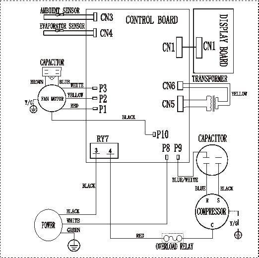 Portable Air Conditioner Wiring Diagram : Haier btu wiring diagram braun
