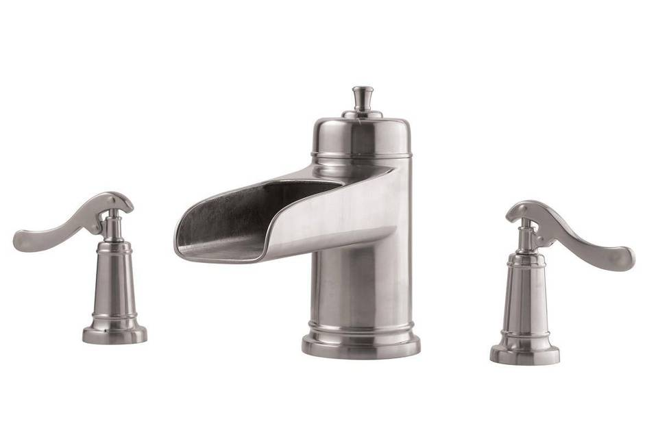 Bathroom Faucets Discount Prices brushed nickel ashfield single control, centerset bath faucet
