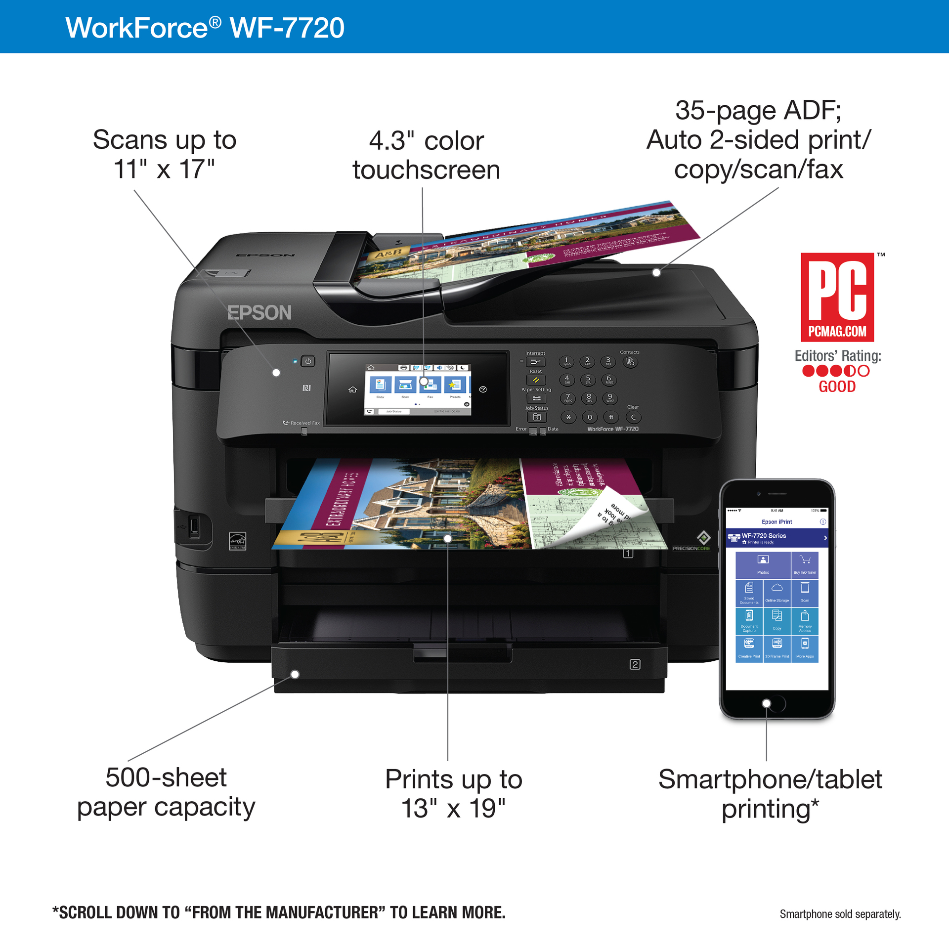 EPSON WorkForce WF-7720 | Dell United States