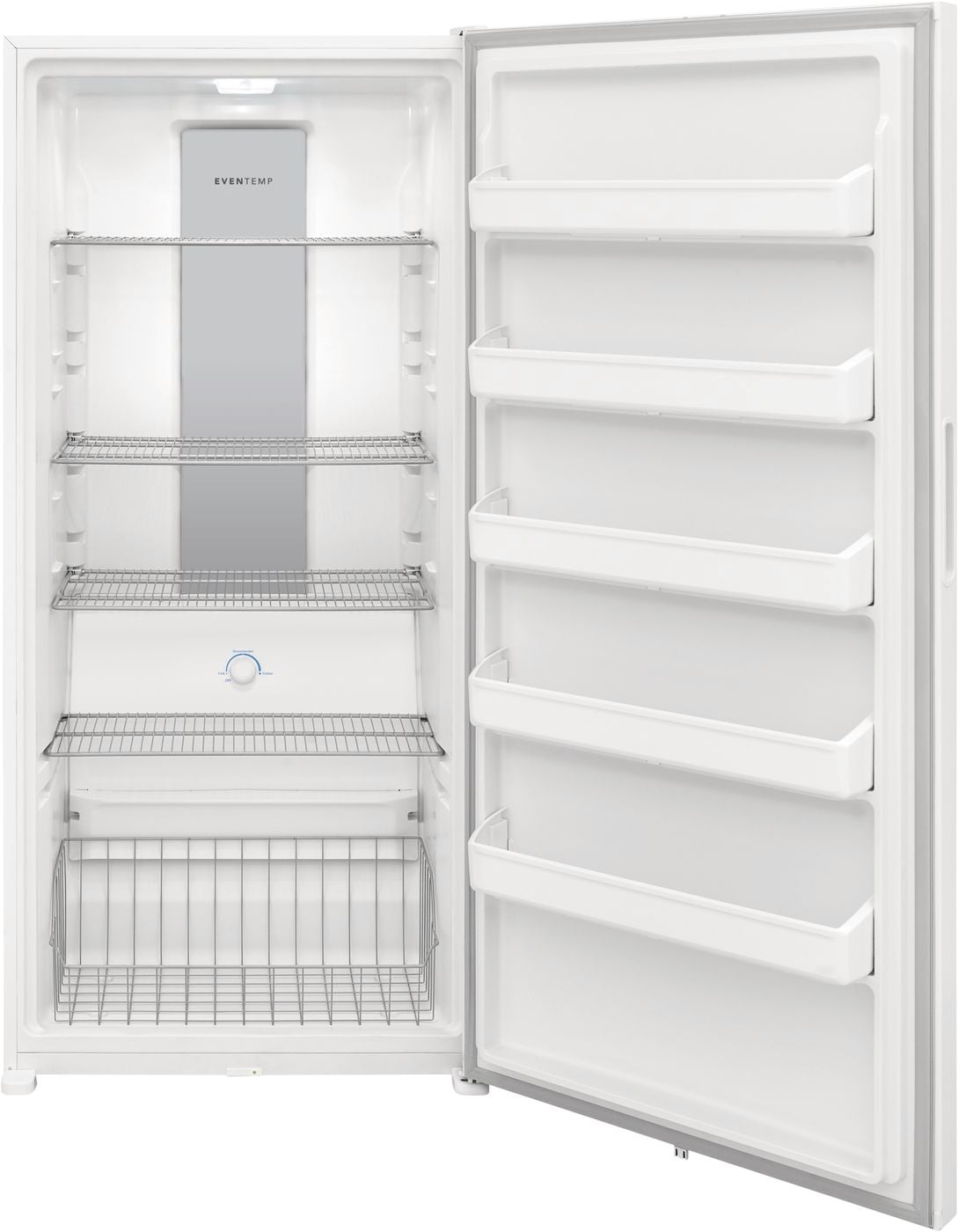 ft Capacity Automatic Defrost LED Lighting and Adjustable Shelves in White Frigidaire FFFU20F4VW 33 Upright Freezer with 20 cu