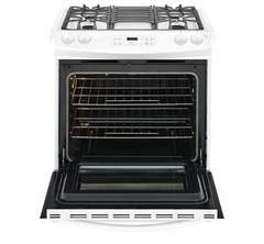 Frigidaire Gas Slide-In Range: FFGS3026TW