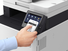 Touch and Print with NFC (Near Field Communication)