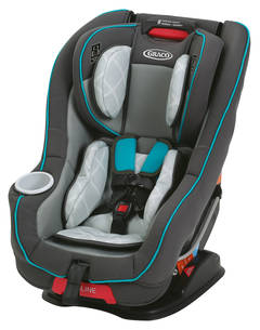 Graco Ready RideTM Convertible Car Seat Dotastic MyRide 65 Go Green Contender Chili Red