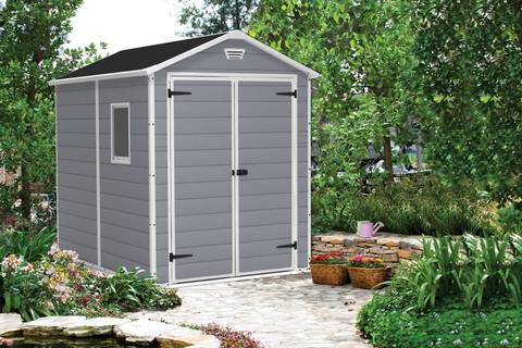 the keter manor shed 6x8