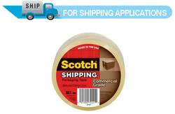 3750 Scotch® Commercial Grade Packaging Tape