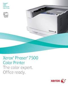 View Phaser 7500 Brochure PDF