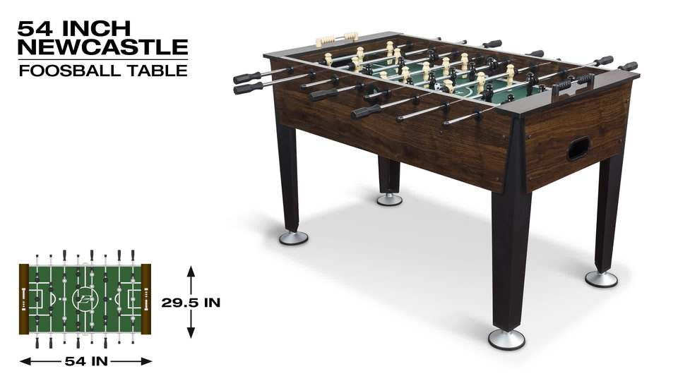 EastPoint Sports 54 Inch Newcastle Foosball Game Table   Walmart.com