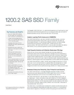 View 1200.2 SSD Data Sheet PDF