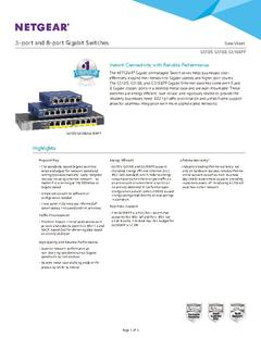 View GS108 Datasheet PDF