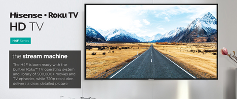 Hisense 32 In  720p H4 Series Roku Smart Tv | Tvs
