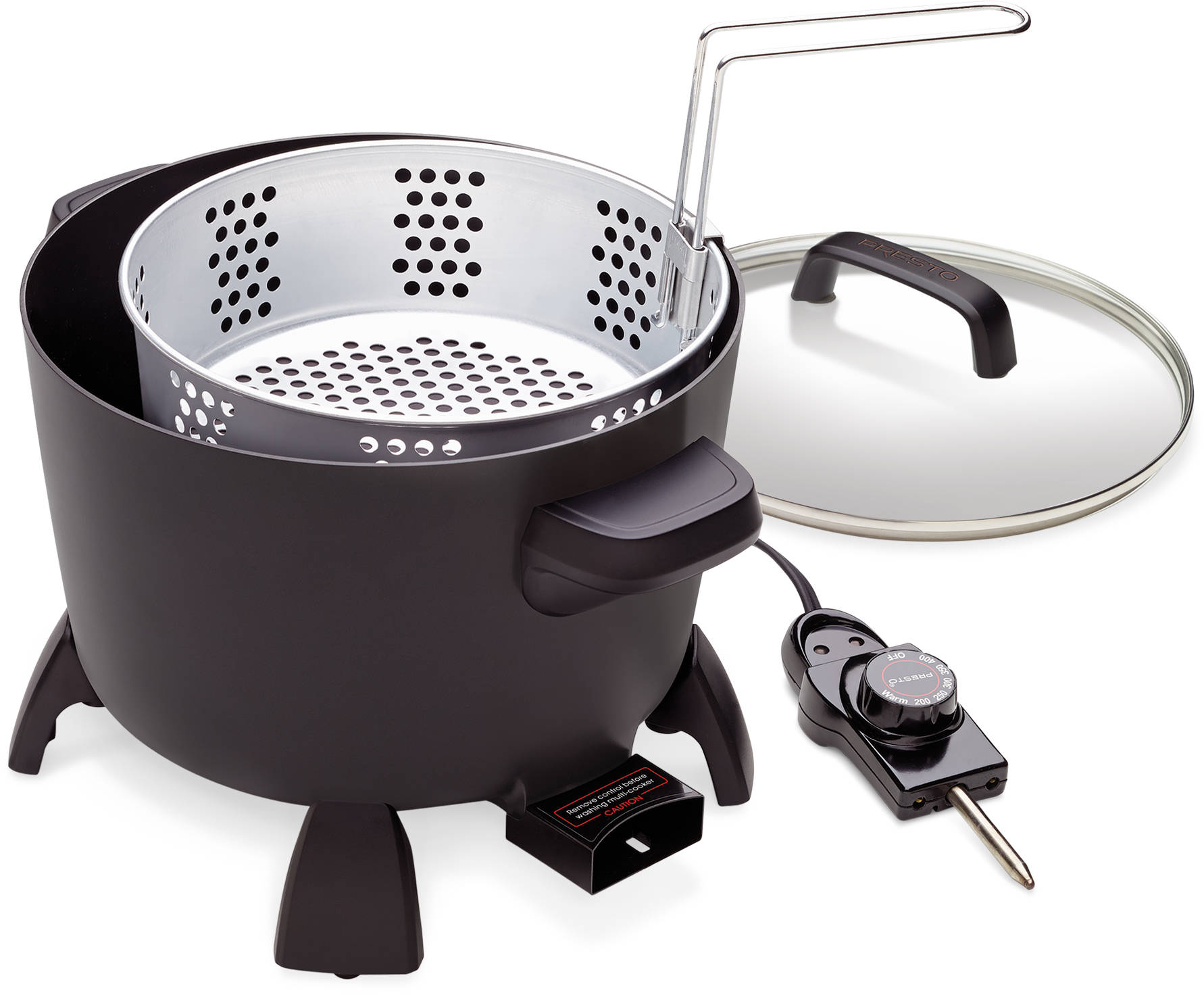 Presto Kitchen Kettle Multi Cooker Reviews Presto Kitchen Kettle Multi  Cooker Steamer Walmart