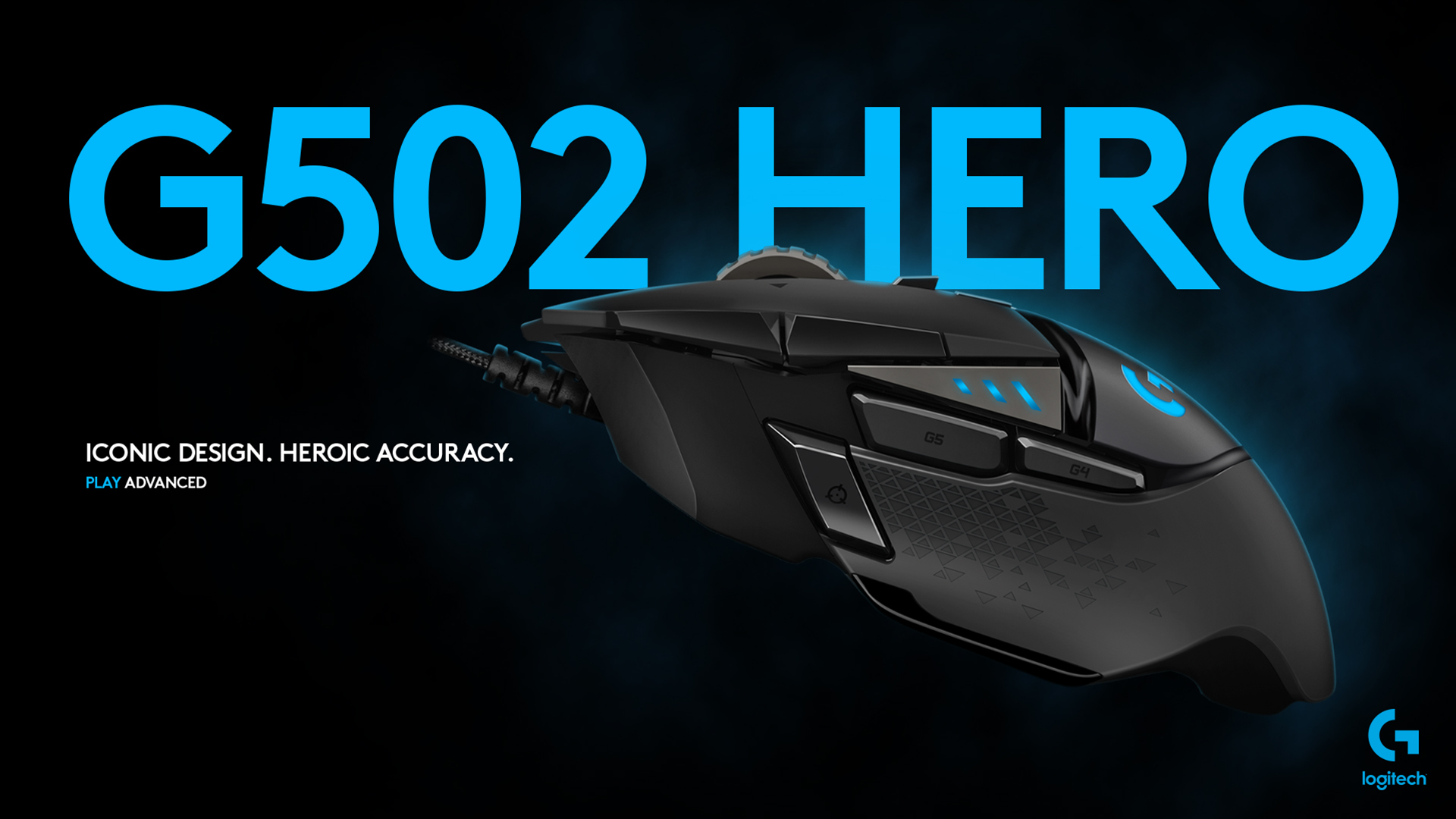 Logitech G502 Hero Gaming Mouse Pc Gaming Accessories