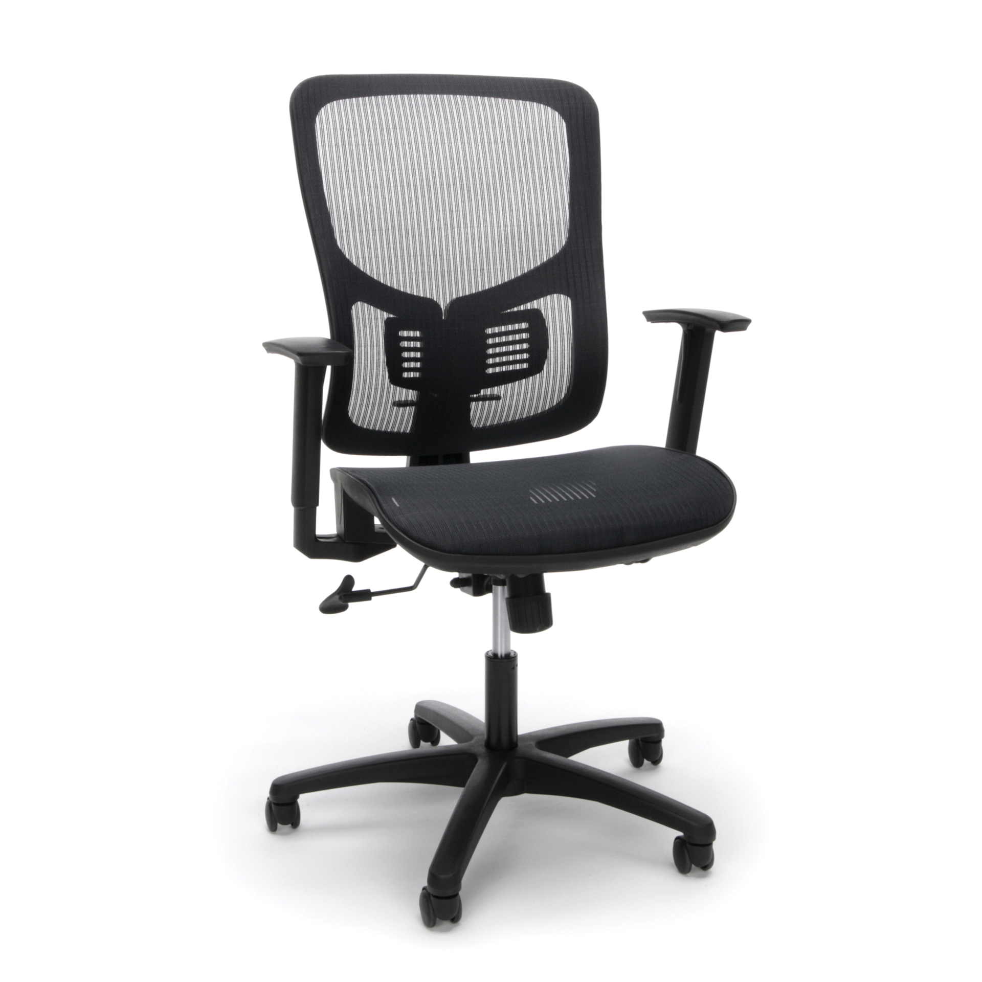 OFM Essentials Ergonomic Office Chair Black - Office Depot