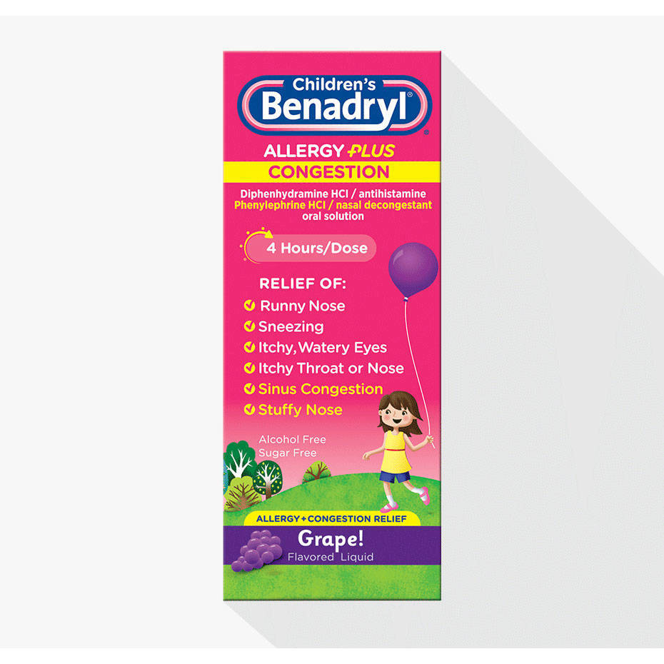 Benadryl D Allergy Plus Sinus Drowsy