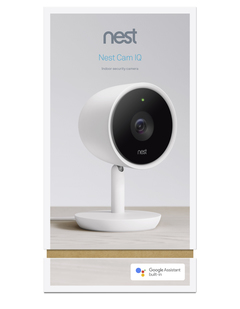 Nest Cam IQ Packaging