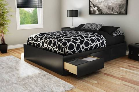 south shore full storage mates bed multiple colors