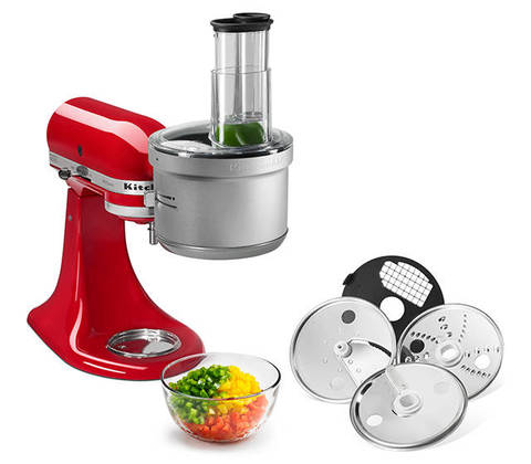 Kitchenaid Vegetable Chopper kitchenaid¨ food processor attachment- ksm2fpa : target