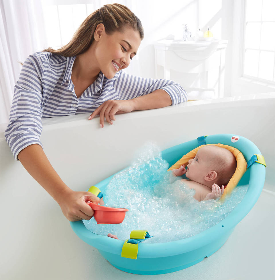 Rinse \'n Grow Baby Bath Tub | CBV05 | Fisher-Price
