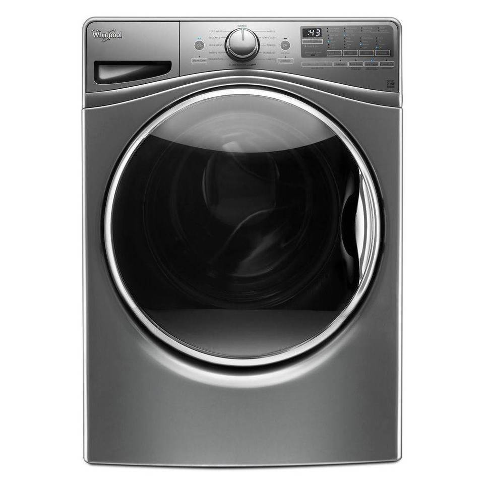 Whirlpool Steam Clean 4.5CuFt Front Load Washer with Load & Go Bulk ...