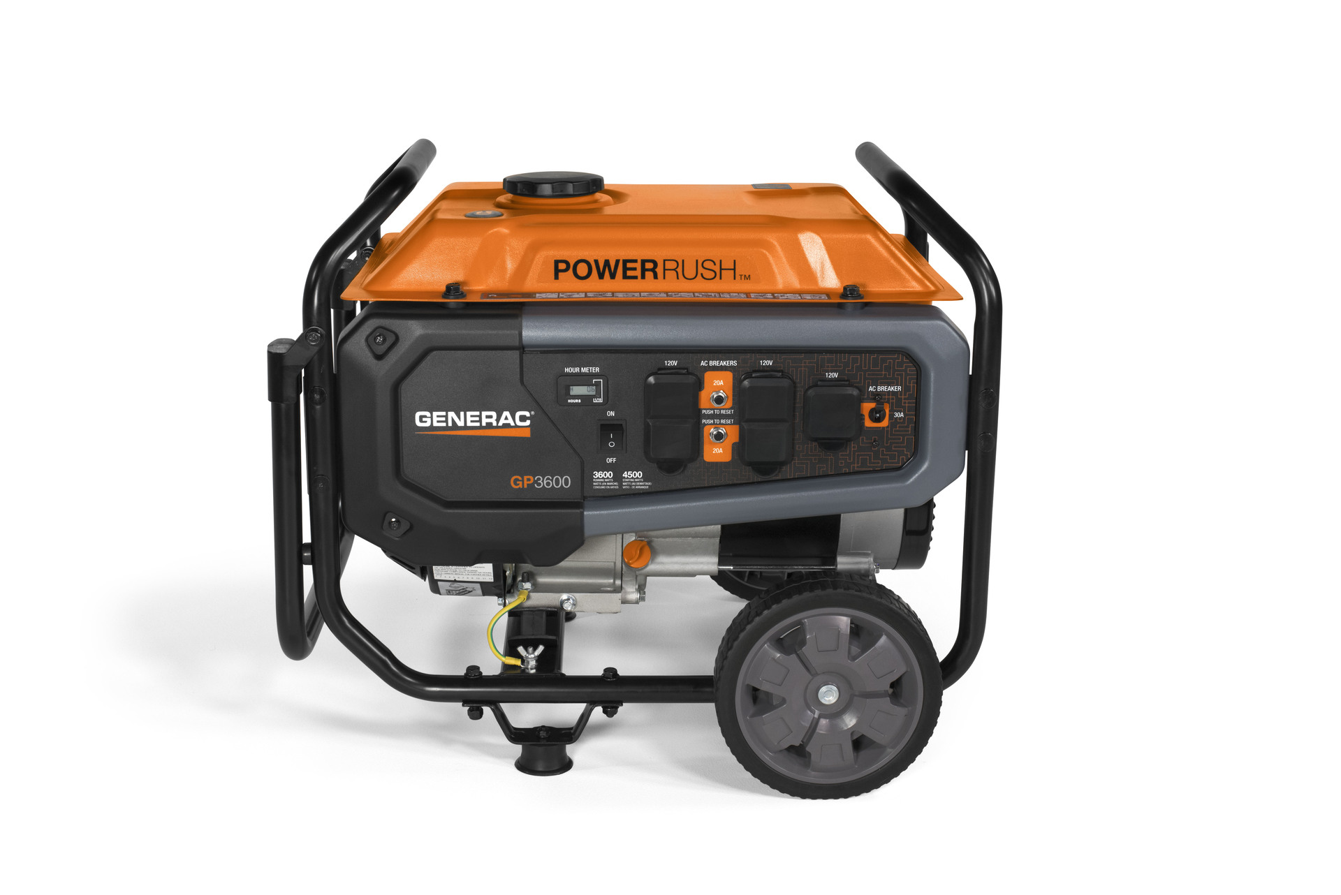 Shop Generac Gp Series 3600 Running Watt Portable Generator With Wiring Diagram And Parts List For Generatorparts Gp3600 Press Enter To Zoom In Out