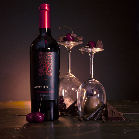 Apothic Red is a masterful red blend featuring Zinfandel, smooth Merlot, flavorful Syrah, and bold Cabernet Sauvignon.