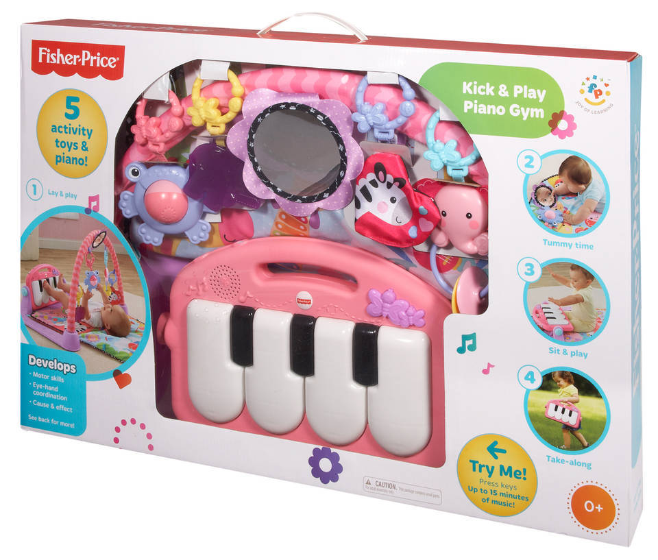 Fisher Price Kick Play Piano Play Gym Buybuy Baby