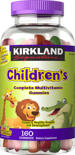 Kirkland Signature Children's Complete Multivitamin, 320 Gummies