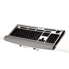 I-Spire Series™ Desktop Edge Keyboard Lift - White
