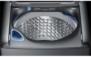 Samsung 5 6-cu ft High-Efficiency Top-Load Washer (Platinum) ENERGY