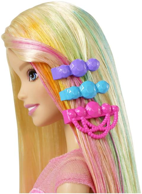 Barbie Rainbow Hair Doll Cfn48