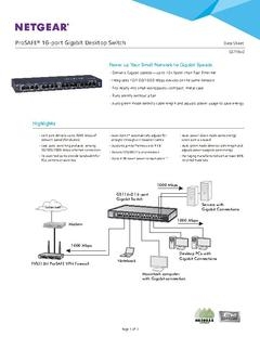View GS116 Datasheet PDF