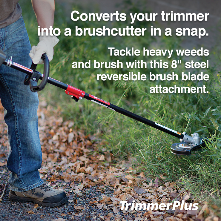 TrimmerPlus Brush Cutter Attachment at Lowes com