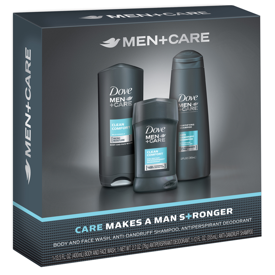 Dove Men Care Clean Comfort Everyday Gift Pack 227oz Target Axe Deodorant Bodyspray Apollo 150ml Twin