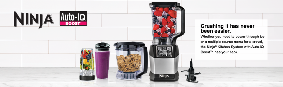Ninja® Kitchen System with Auto-iQ Boost™ - Bed Bath & Beyond