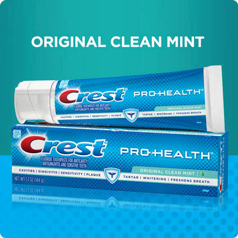 crest toothpaste research and objectives