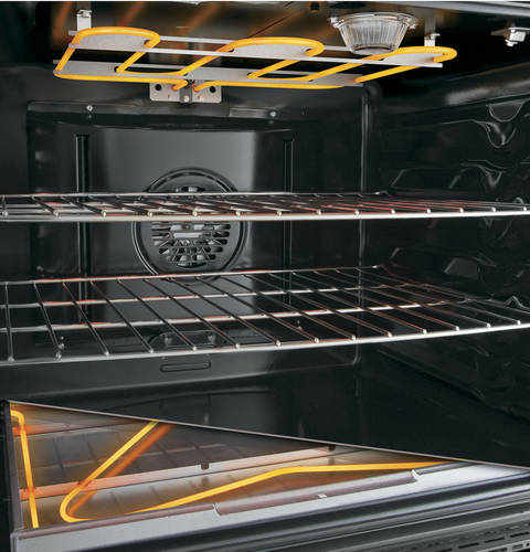 GE 5 3CuFt Free-Standing Single Oven ELECTRIC Range with