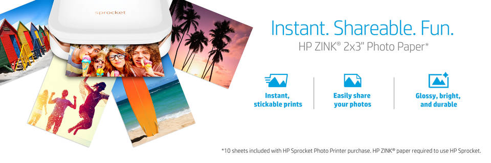 hp sprocket photo printer target