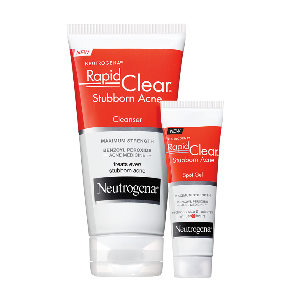 Neutrogena Rapid Clear Stubborn Acne Daily Leave On Mask 2 Oz