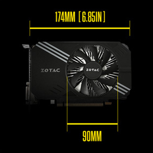 ZOTAC GeForce GTX 1060 Mini - graphics card - GF GTX 1060 - 6 GB