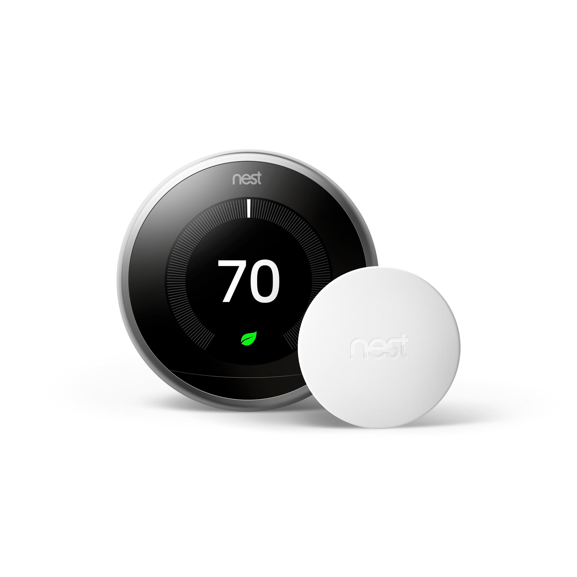 Google White Temperature Sensor for Room Sensor at Lowes com