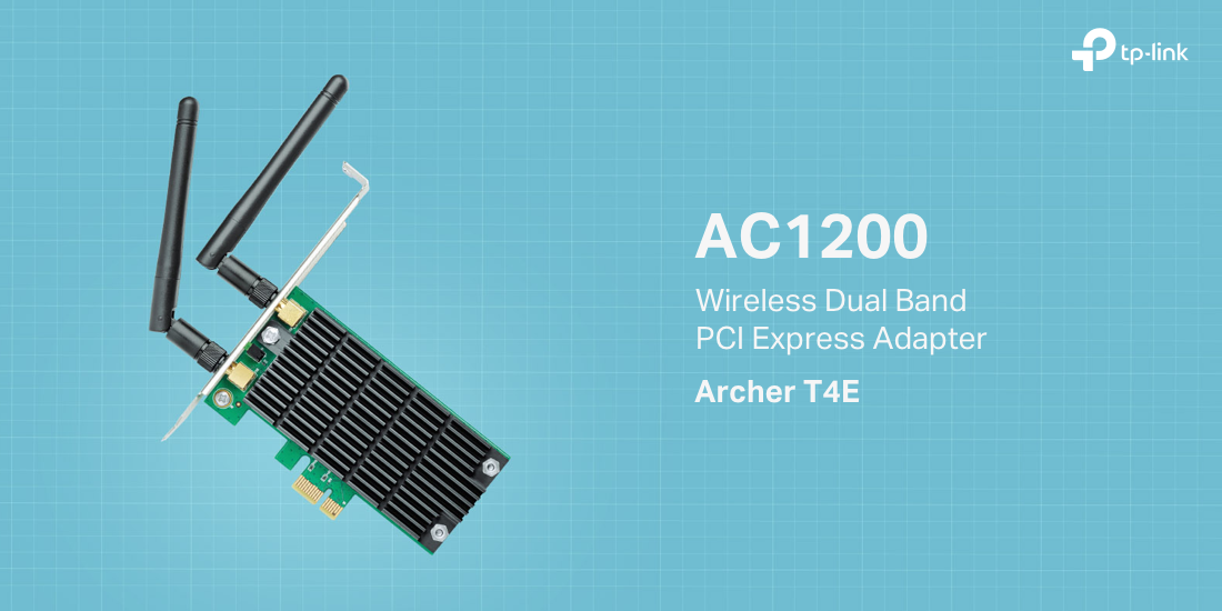 Archer T4E - AC1200 Wireless Dual Band PCI Express Adapter