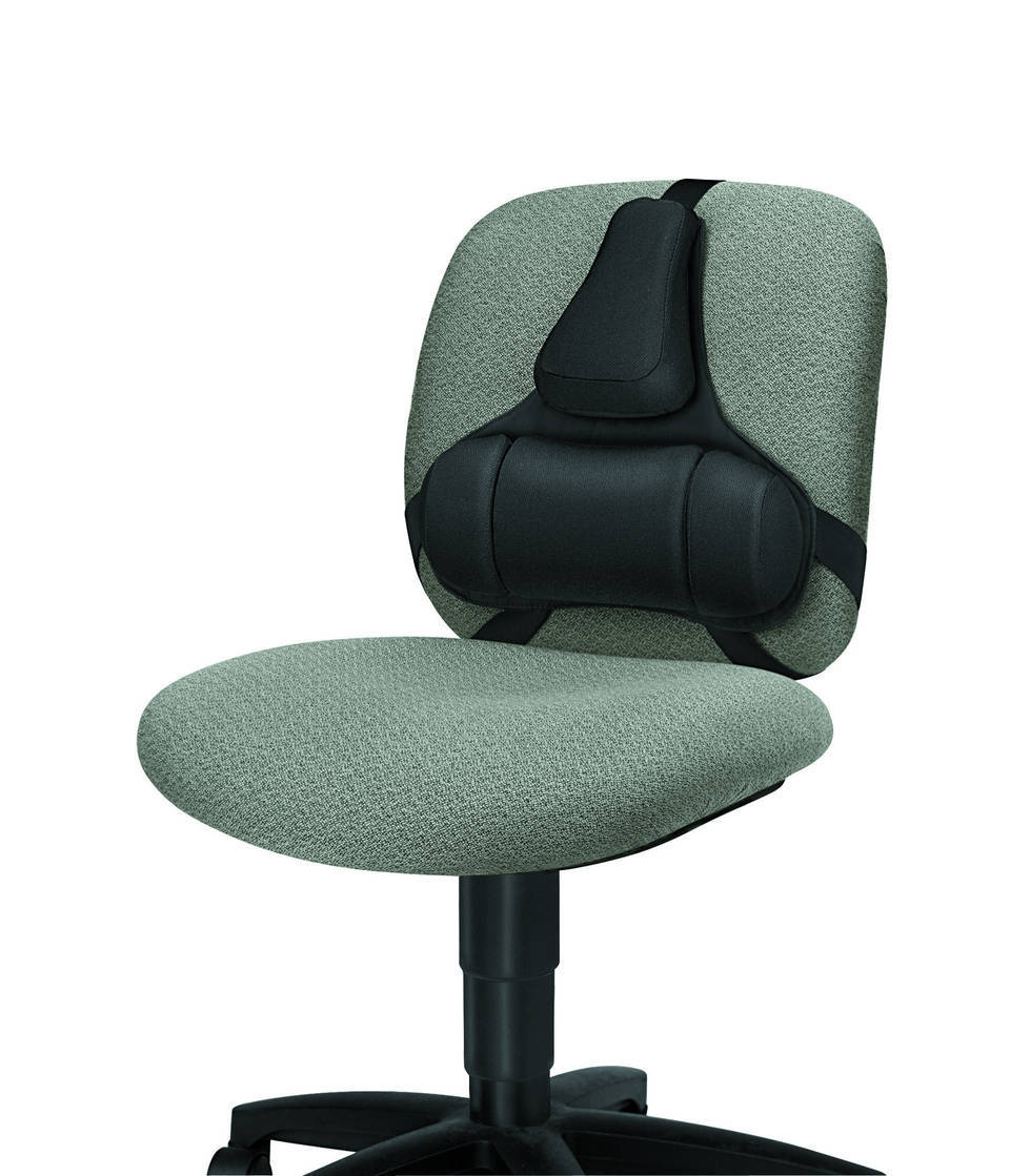 Best Office Chairs For Back Support >> Fellowes Professional Back Support Black 8037601